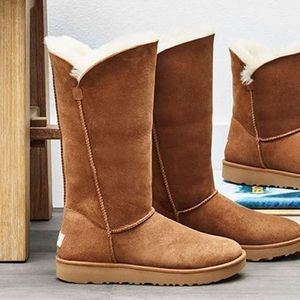 UGG Che Classic Cuff Tall Fold Over Boots